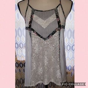 Gimmicks by BKE tie side camisole